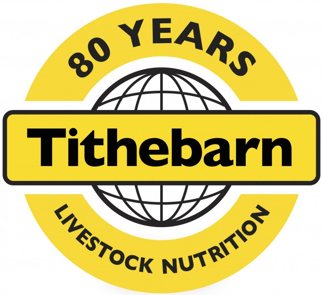 Tithebarn 80 years logo