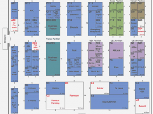 Floor Plan ILDEX Vietnam 2016