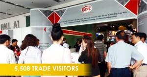 5,508 trade visitors