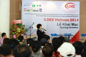 ILDEX Vietnam Opening Ceremony 2014