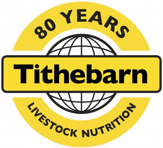 Tithebarn 80 years logo